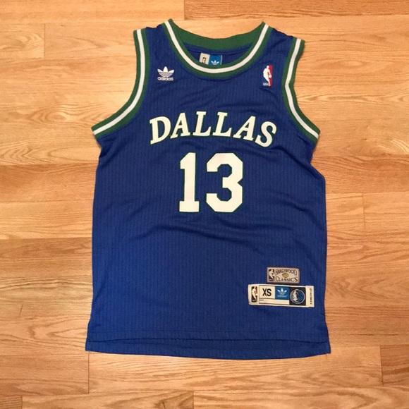 newest collection 1d5ac 777aa Steve Nash Dallas Mavericks Jersey. Blue. XS